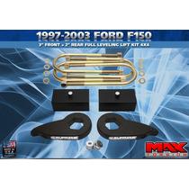 Lift Kit Delantero Y Trasero Para Ford F-150 97-03