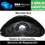 Mercedes Slk 2004 Chasis 209 Tablero Instrumentos Reparacion