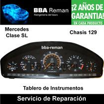 Mercedes Sl 1992 Chasis 129 Tablero Instrumentos Reparacion