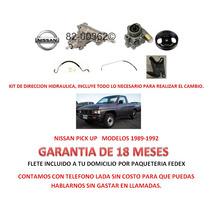 Kit Direccion Hidraulico Completo Original Nissan Pick Up