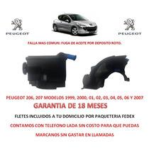 Deposito P/bomba Licuadora Direccion Peugeot 206, 207,patner