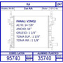 Radiador Ford Ka 1.0 / 1.3 Lts 1996 1997 1998 1999 / C.a