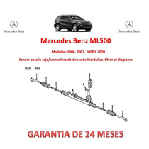 Sensor Dirección Hidráulica Presión Mercedes Benz Ml500 2007