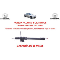 Caja Direccion Hidraulica Cremallera Honda Accord 4cyl 1991