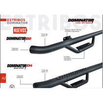 Estribo Dominator 2 Ford Lobo 250, 350,450 Super Cab 99-15