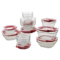Rubbermaid Fácil Búsqueda Tapa De Vidrio Almacenamiento De A