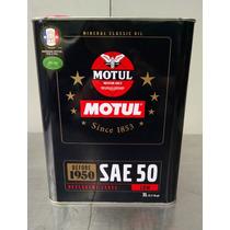 Motul Aceite Mineral De Motor Para Antes 1950 Sae50 - 2lt