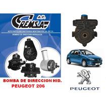 Bomba De Dir. Hidraulica/licuadora Remanu. Peugeot 206