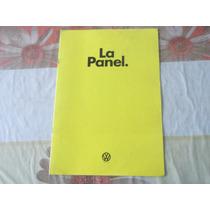Antiguo Folleto Publicitario Combi Panel 78 Original Vw