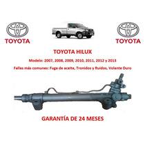 Caja Direccion Hidraulica Cremallera Toyota Hilux 2012