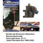Bomba De Direccion Licuadora Jeep Cherokee 6cil 1995