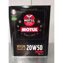Motul Aceite Mineral De Motor Para Antes 1950 Sae20w50 - 2lt