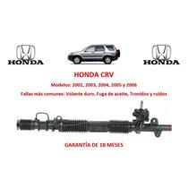 Caja Direccion Hidraulica Cremallera P/bomba Honda Crv 2005