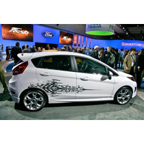 Ford Fiesta Calcomanias Stickers Graficas Originales