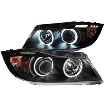 Bmw 3 Series E90/e91 06-08 Projector Halo/led Black(ccfl)