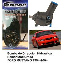 Bomba De Direccion Hidraulica / Licuadora Ford Mustang 2001