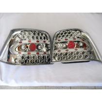 Calavera Led Golf A4 99 - 05 Fondo Cromado Nuevo Modelo