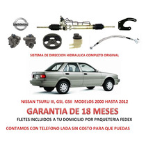 Kit Direccion Hidraulico Completo Original Nissan Tsuru Iii