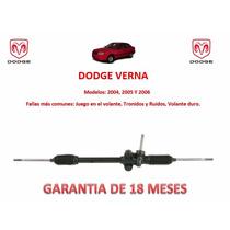 Caja Cremallera Direccion Mecánica Standard Dodge Verna 2004