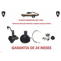 Kit Direccion Hidráulico Original Plymouth Barracuda 67 Y 68