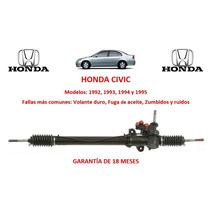 Caja Direccion Hidraulica Cremallera Honda Civic R 92 A 95