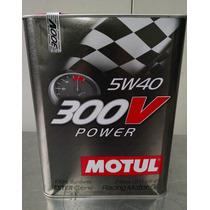 Motul Aceite Motor Sintetico Racing 300v Power 5w40 - 2lt