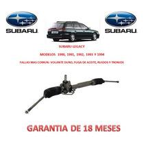 Caja Direccion Hidraulica Cremallera Subaru Legacy 1991