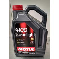 Motul Aceite Motor 4100 Turbolight 10w40 - 5 Lt