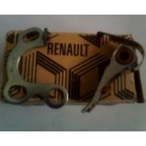 Juego Platino Y Condensador Para Renault 4l(erradura Y L)