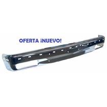 Defensa Delantera S10 / Blazer 91-94 Cromada Con Barrenos