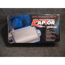 Mofle Flowtech Raptor Turbo 2.5 Entrada Lado Salida Centro