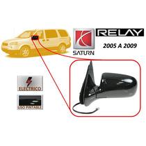 05-09 Saturn Relay Espejo Lateral Electrico Lado Izquierdo