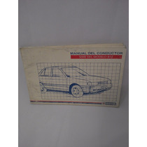 Manual Del Propietario Nissan Tsuru Iii Original Completo
