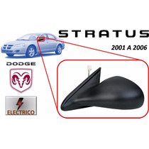 01-06 Dodge Stratus Sedan Espejo Lateral Electrico Izquierdo