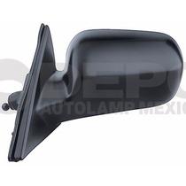 Espejo Honda Accord 1998-2002 2/4ptas Izq Con Control Negro