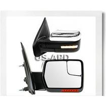 Ford Lobo F150 F-150 2004 - 2012 Set De Espejos Direccional
