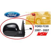 97-07 Ford F150 Espejo Lateral Electrico Negro Derecho Msm