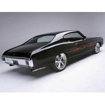 Hules Puertas, Vidrios Y Cajuela Chevelle Modelo 1969-72