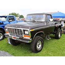 Hules Para Puertas Y Vidrios Para Ford Picck Up 1973 Al 79