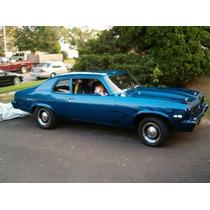 68-74 Chevy Nova Empaques Hule Ventanas Puertas Cajuela 5 Pz