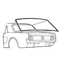 Mustang 65 66 67 68 Empaque Cristal Medallon Coupe