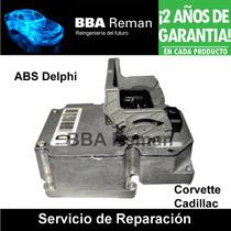 Cadillac Chevrolet Corvette Frenos Abs Delphi Reparacion