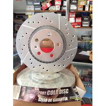 Discos Hiperventilados Con Balatas Jetta Golf A4 Motor 2.0