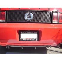 Mustang 05-09 Difusor Trasero ,.toma De Aire Emblema