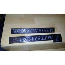 Vw Combi Vanagon Wesfalia Pta Corrediza Volante Emblemas