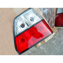 Vw Golf A2 1984-1991 Tail Lights Calaveras Cristal_red R + L