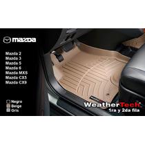 Tapetes Mazda Uso Rudo 1ra Y 2da Fila Weathertech Floorliner