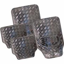 Tapetes Metalizados Metalicos Auto Carbon 4 Piezas