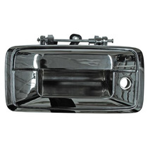 Manija Tapa Caja Chevrolet Pick Up 2014-2015 Cromada C/hoyo