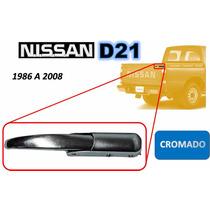 86-08 Nissan Camioneta Gancho Tapa Trasera Cromado Derecho